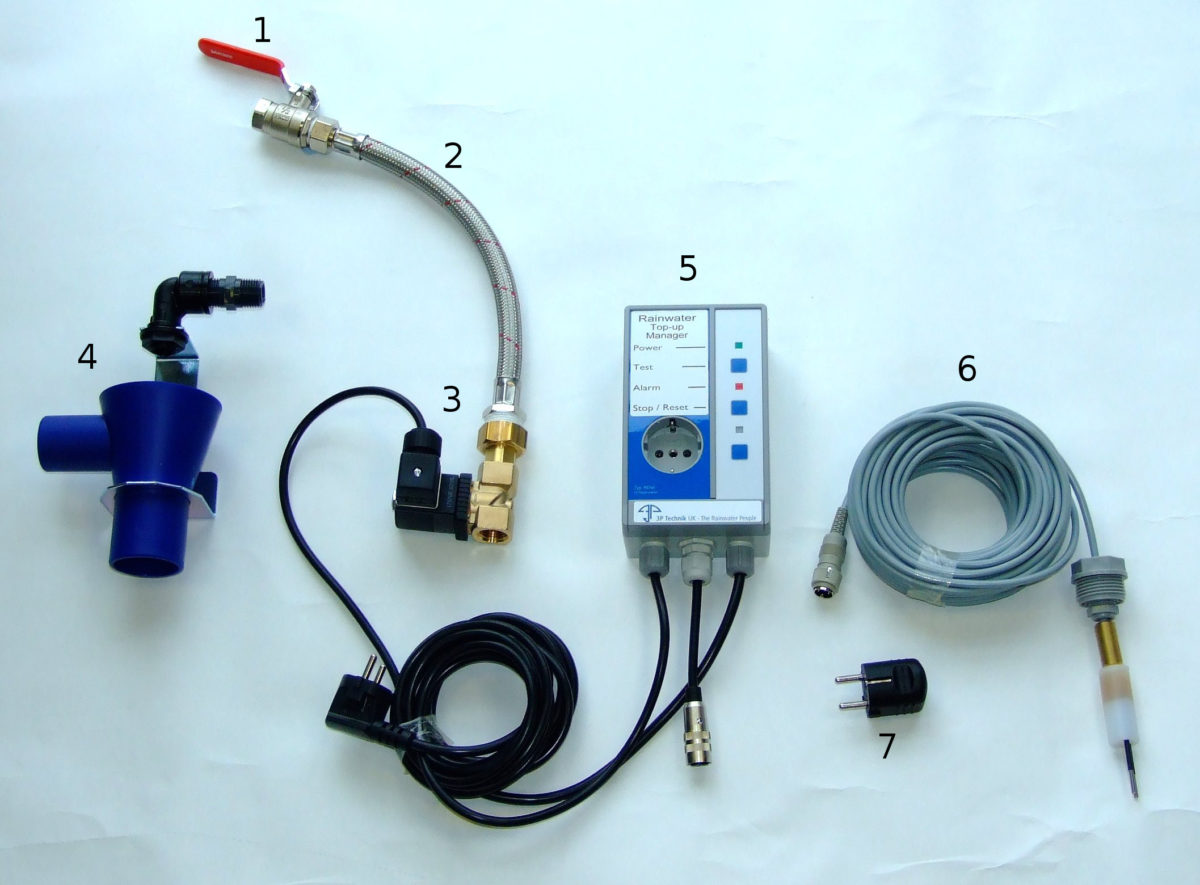 Electronic Mains Water Top-up Kit with Pump Isolation and Alarm