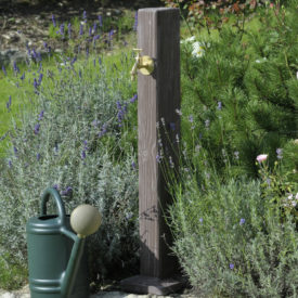 garden post. Wooden Effect Garden Post Y