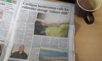 Dr Glyn Hyett, 3P Technik UK, in the TivySide Advertiser advocating Rainwater Management Culture Shift to mitigate against the worst of Flooding and Drought in the UK