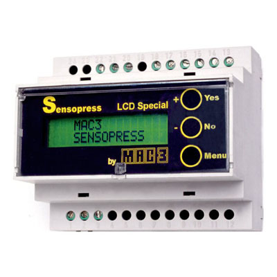 DIN Rail Mounted Level Controller – Sensopress