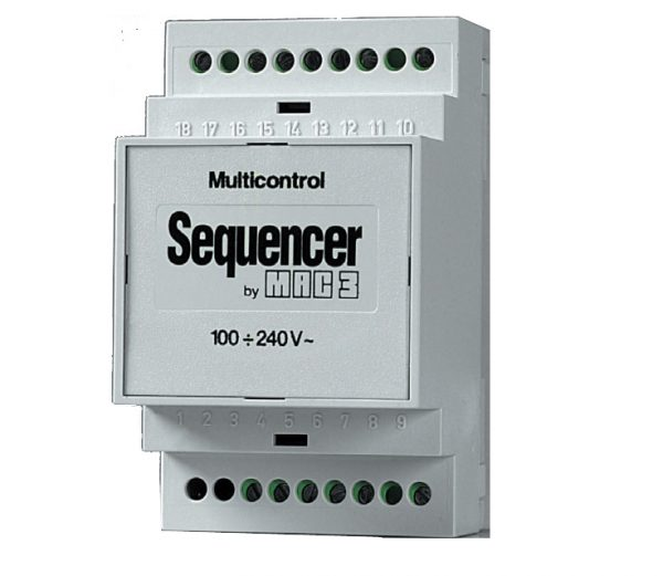 DIN Rail Mounted Pump Sequencer