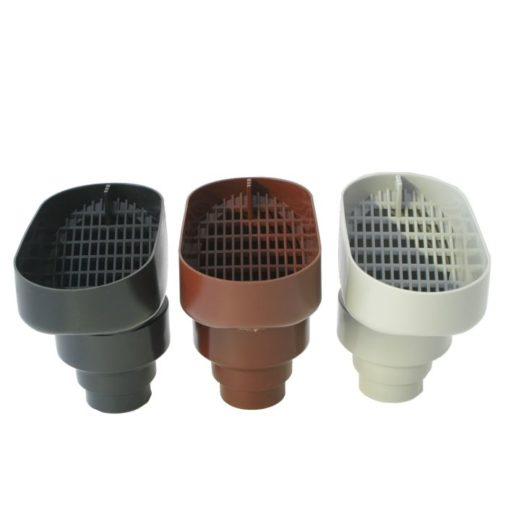 Leaf Catcher is available in three colours, Black, Grey and Brown